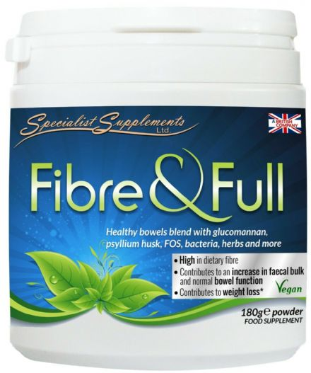 Fibre And Full v4 180g Powder: Dietary Fibre Weight Loss; Specialist Supplements